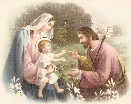 Saint Joseph, une image de la pureté du Père éternel Famill10