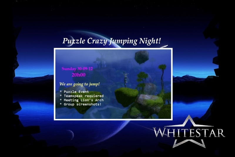 GW2 event -Sunday 30-09-12  - Puzzle Crazy Jumping Night Puzzle11
