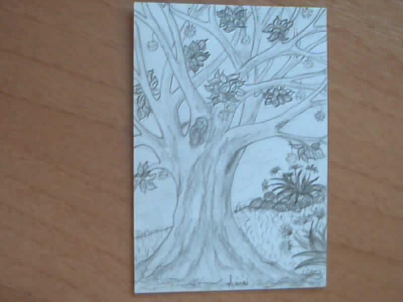 I miei disegni piccini picciò Albero11