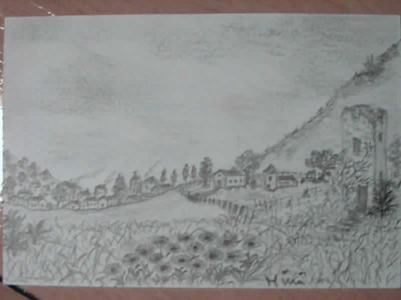 I miei disegni piccini picciò Paesag12