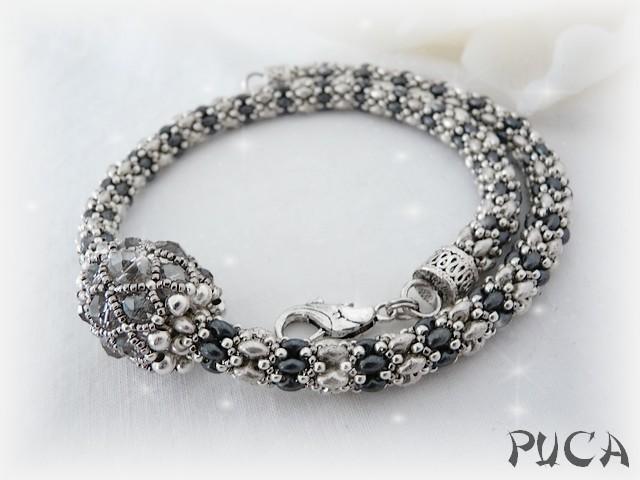 collier de pucca pour lazuline Spiral13