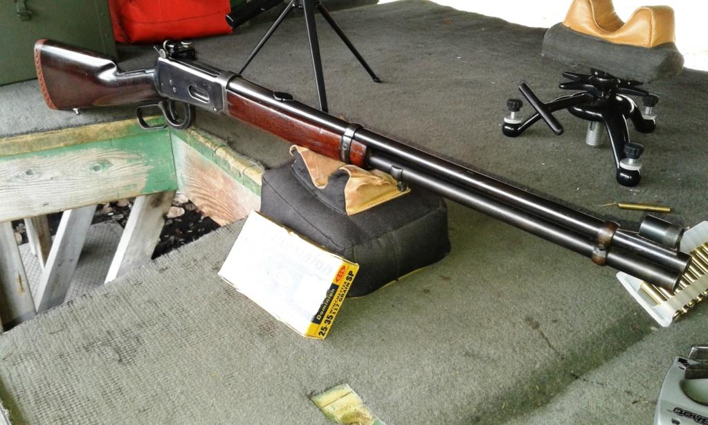 Winchester en calibre 25-35 win. 20161111