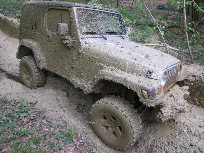 Lavare la propria jeep come? 410