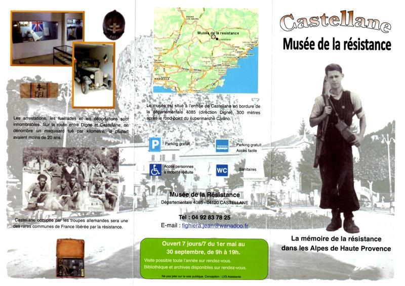 Musée de la Résistance de Castelanne (04) - Page 2 Img00111
