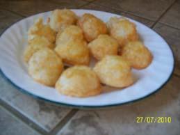 Macarons à la noix de coco faciles faciles! Photon15