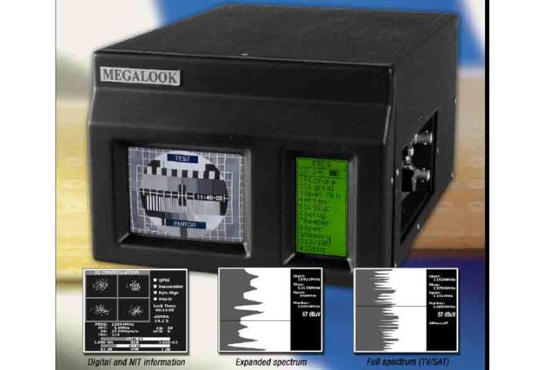 เครื่องหาสัญญาณดาวเทียม Emitor - Megalook Megalo10
