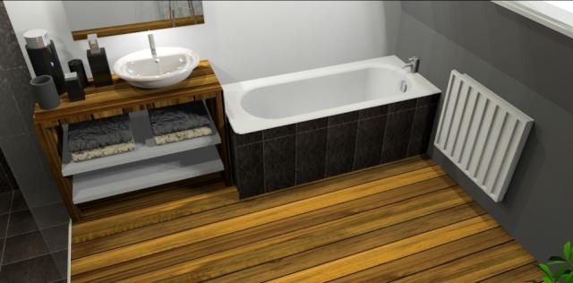 Salle de bains parquet teck - Page 2