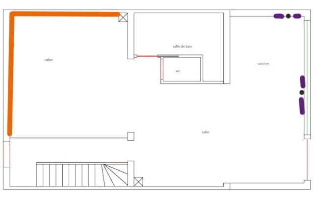 Deco de ma salle . Aperçu P3 Plan110