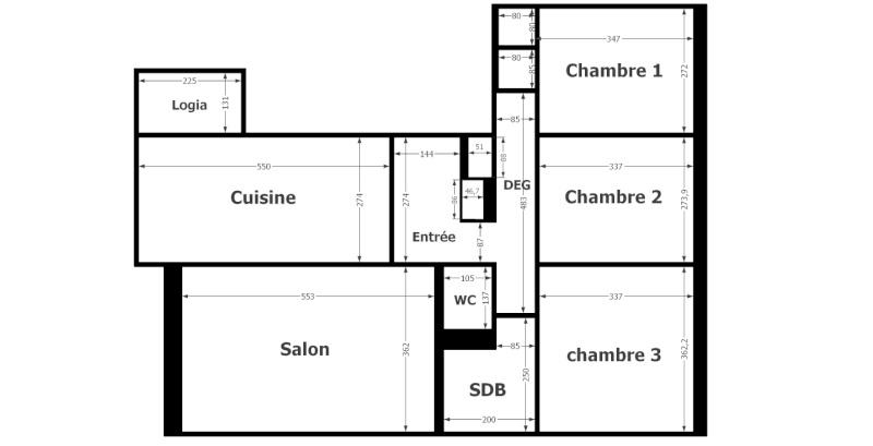 Un appartement à architecturer, décorer & meubler Plant11