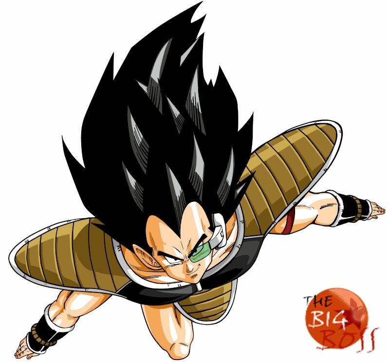 Mis Dibujos Dragon Ball Raditz13