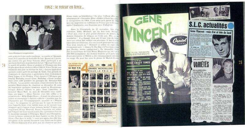 LIVRE : GENE VINCENT Gloire et Tribulations d'un Rocker en France et dans les pays francophones Gene0014