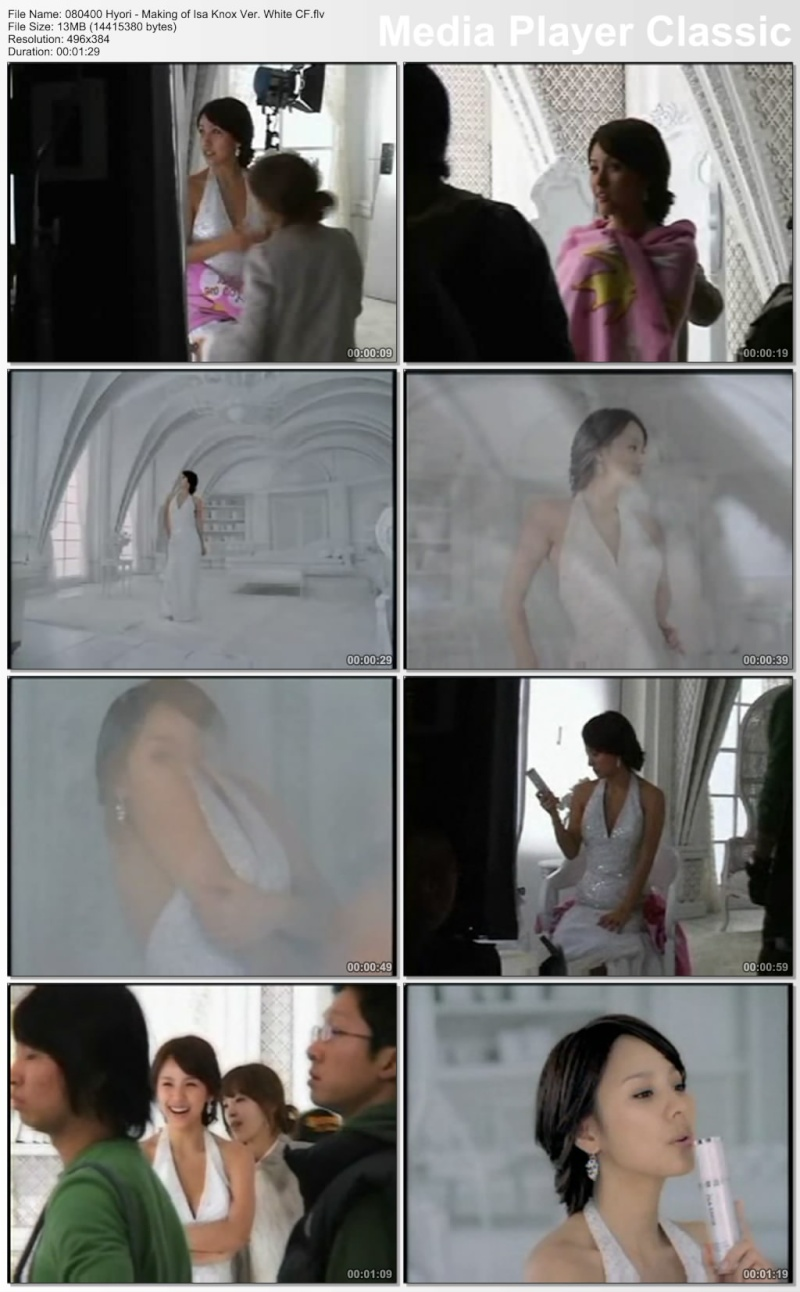 [080400] Hyori - Making of Isa Knox Ver. White CF [13M/flv] 08040012