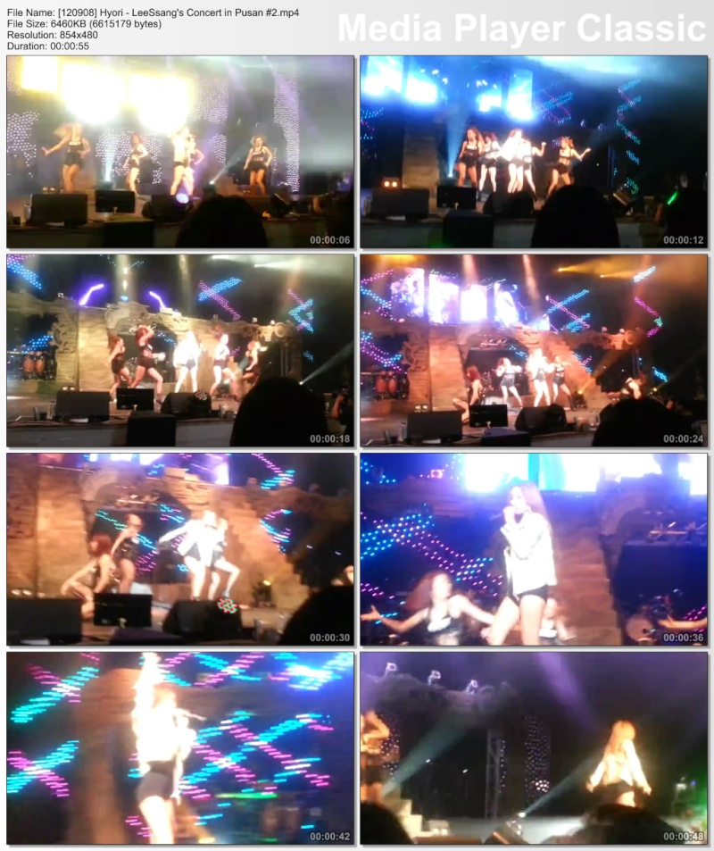 [120908] Hyori - LeeSsang's Concert in Pusan 12090810
