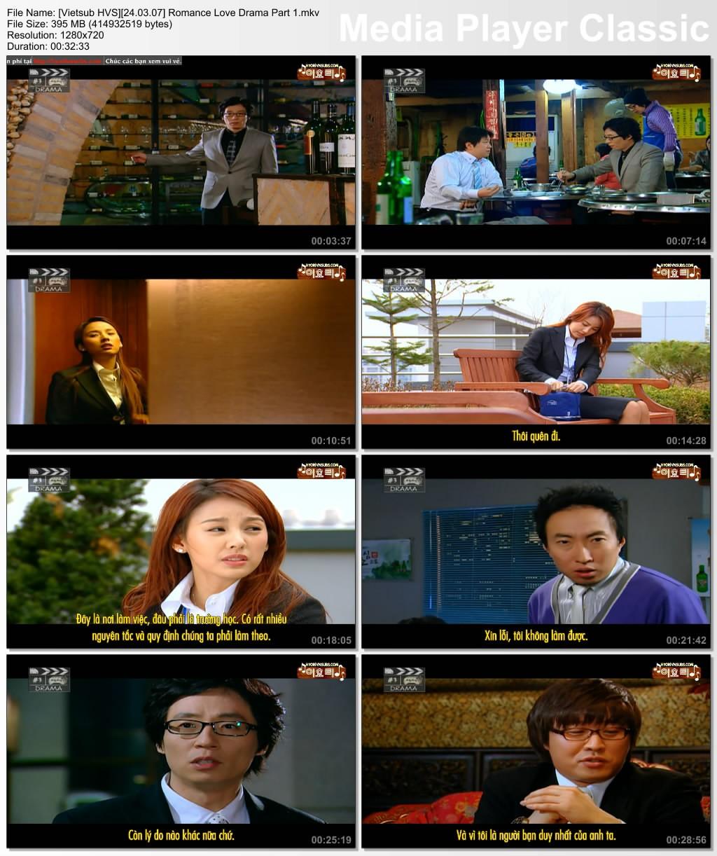 [Vietsub][24.03.07] Romance Love Drama (Starring: Lee Hyori, Yoo Jae Suk, Haha, Park Myung Soo...) Vietsu64