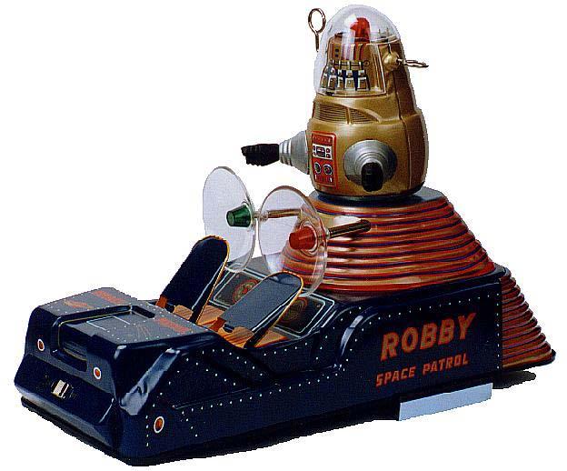 les puristes vont apprécier... Robot210