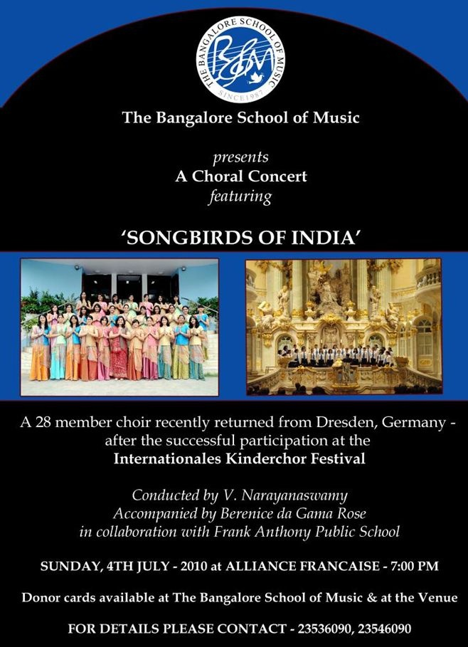 SUNDAY 4TH JULY,7.30PM, CONCERT OF BSM Events10