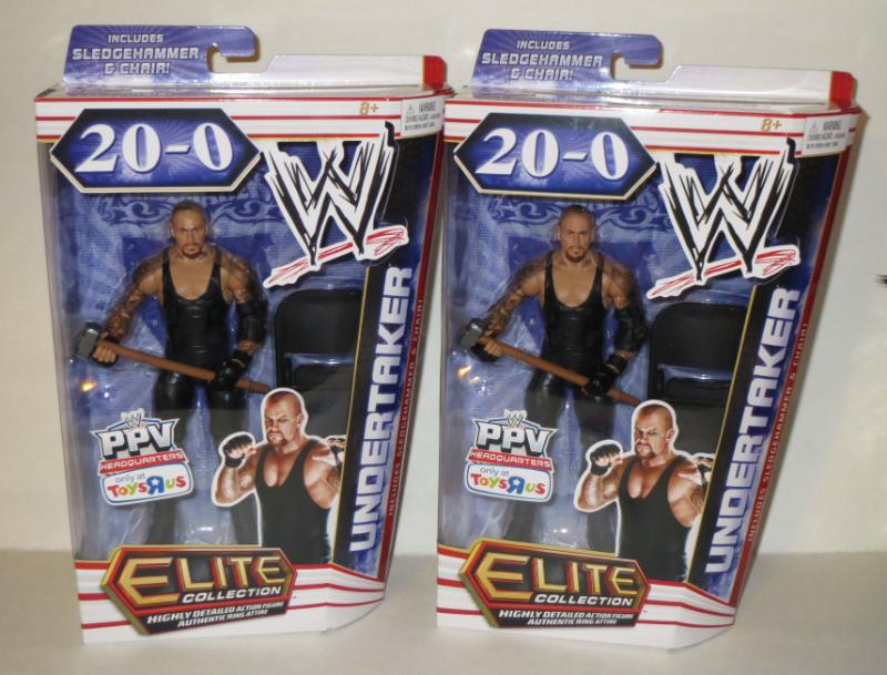 Toys'Rus Wrestlemania 28 Undertaker Exclusive figure Tkr10