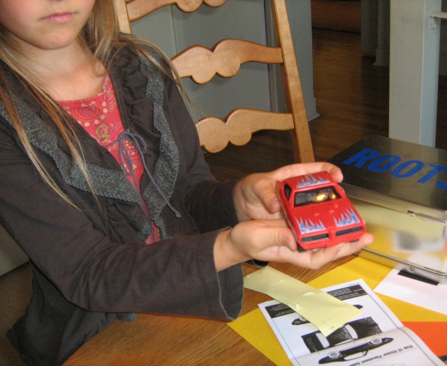 Pontiac GTO 1968 par ma niece Charlo15