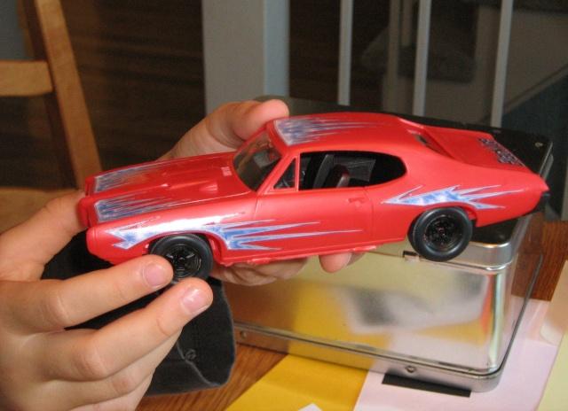 Pontiac GTO 1968 par ma niece Charlo16