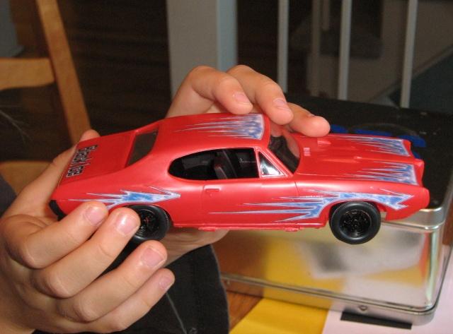Pontiac GTO 1968 par ma niece Charlo17