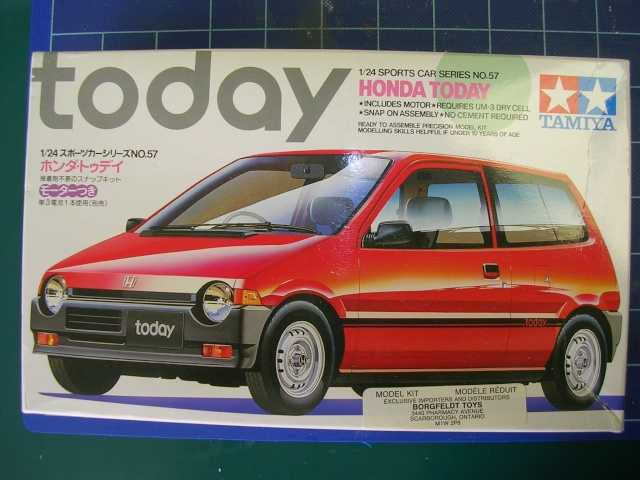 Honda Today pour le slalom Sccato10