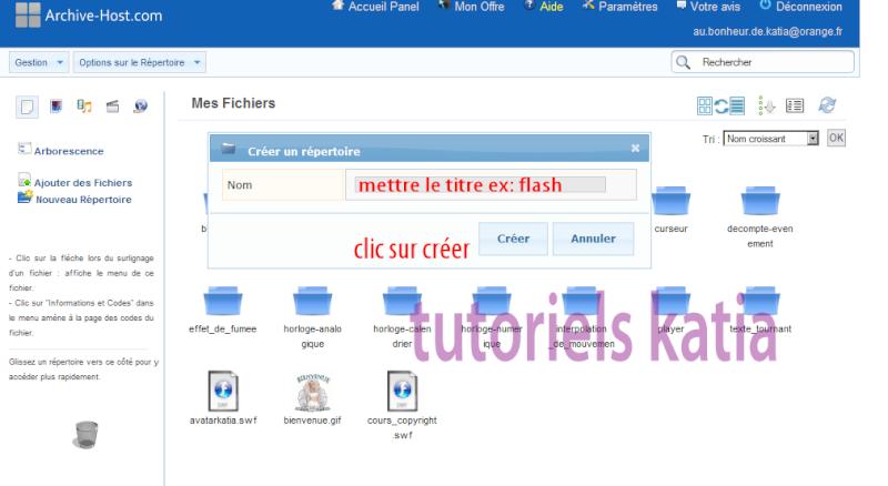 Comment héberger vos Flash et les poster sur le forum Commen12