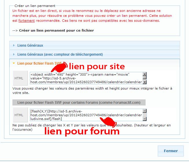 Comment héberger vos Flash et les poster sur le forum Commen20