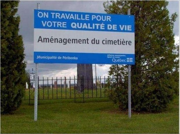 Humour en image ... Quebec10