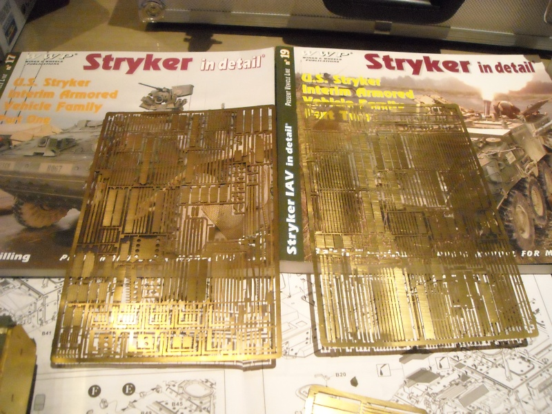 M 1130 Stryker slat armor 1/35 ( de A a Z). Dscn1423