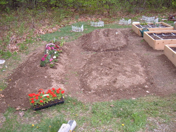First time SFG'er seeking opinions on layout of garden 5-09-010