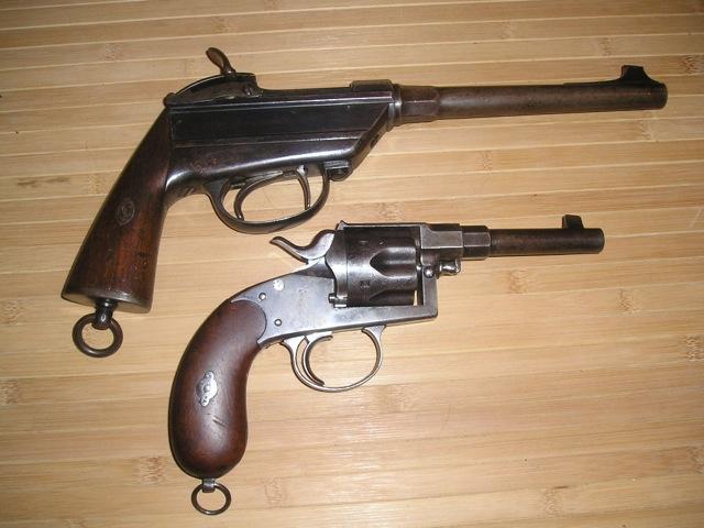 werder - pistolet de la cavalerie bavaroise : Werder Mle 1869 (et son rechargement) P1010067