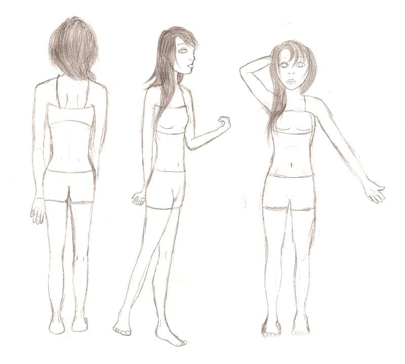 Anatomies des personnages ( 1 ) - Page 2 Numari21