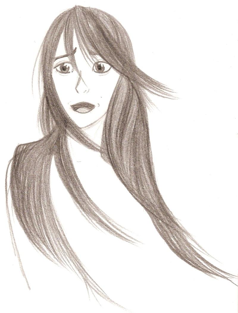 Ah! Une fille. Avec le cheveu facile .. (???) Numari26