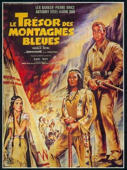 Le trésor des montagnes bleues - Winnetou - 2. Teil - 1964 - Harald Reinl Le_tra10