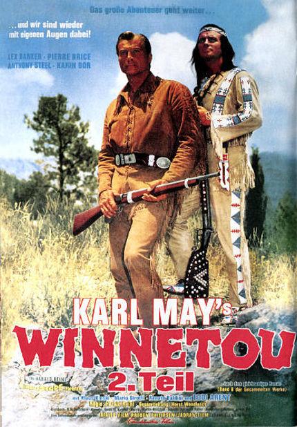 Le trésor des montagnes bleues - Winnetou - 2. Teil - 1964 - Harald Reinl Le_tra11