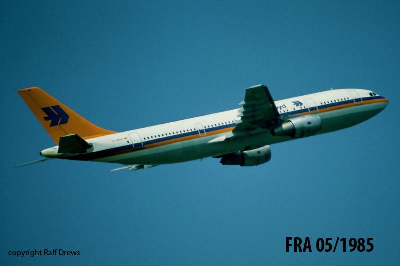 A300 in FRA D-amax10