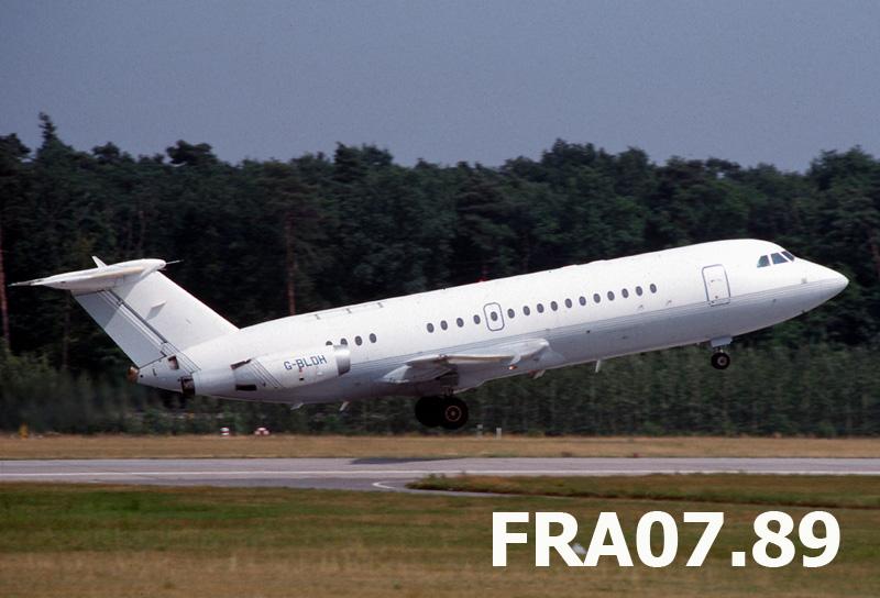 British built Jets in FRA G-bldh10