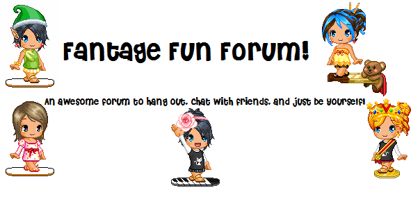 Nicki's Fantage Forum!