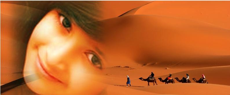بنت الصحراء الضياء والنور