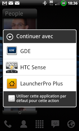 [APPLICATION ANDROID - LAUNCHER PRO PLUS ] Interface qui a un air de sense [plus disponible] Snap2019