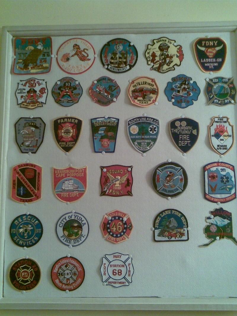 ma petite collection des pompiers belge et americain. Photo129
