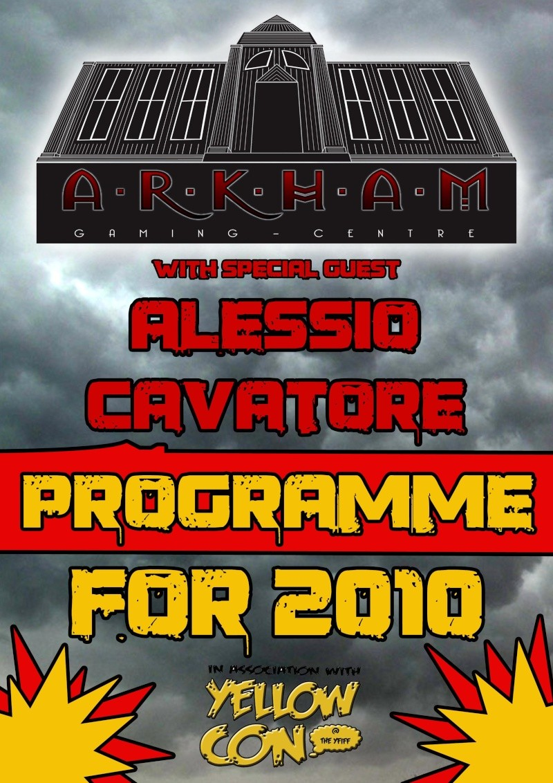 [CON] Arkham Gaming Centre at 'YELLOWCON' (27th to 29th of August 2010) 1ark10