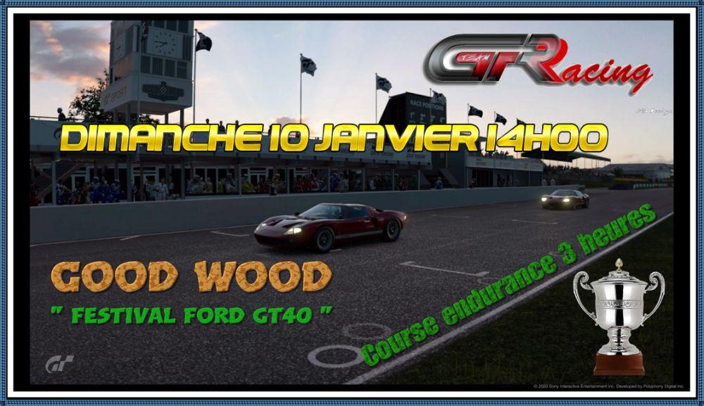 """Good Wood """"Festival GT40 Mark I """"66 """" Dimanche 10 Janvier à partir de 14h00 Y1clsg10"""