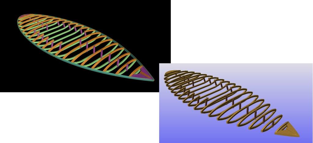 """Plans 3D d'un Modèle : """"SCOOT""""-Années 1950-Conception & Réalisation Virtuelles 01_cha10"""