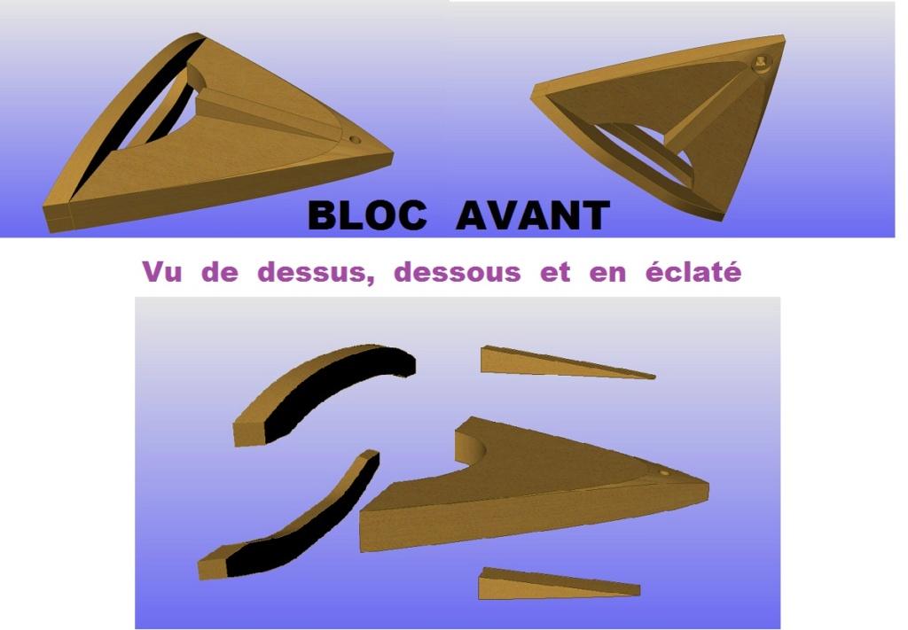 """Plans 3D d'un Modèle : """"SCOOT""""-Années 1950-Conception & Réalisation Virtuelles Bloc_a10"""