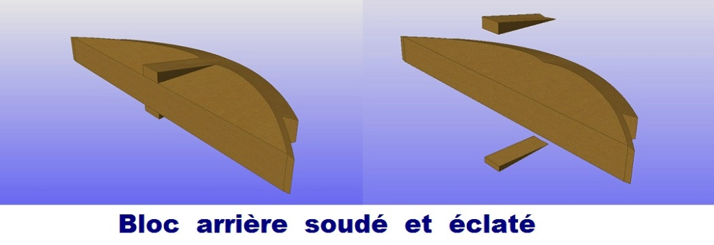 """Plans 3D d'un Modèle : """"SCOOT""""-Années 1950-Conception & Réalisation Virtuelles Bloc_a11"""