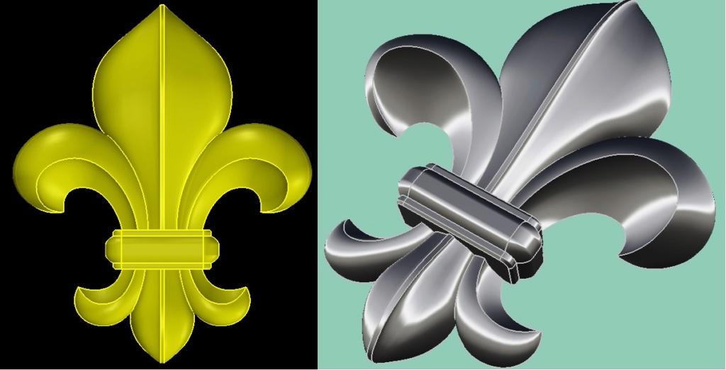 Brouillons: quand la sculpture virtuelle remplace l'argile Fleur_10