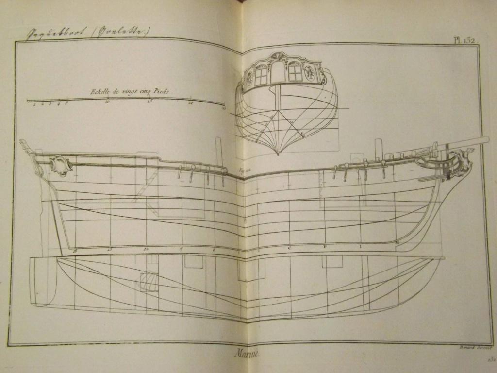 Planche d'une goëlette du XVIIIe sièccle du genre Colonial Schooner. Photo012