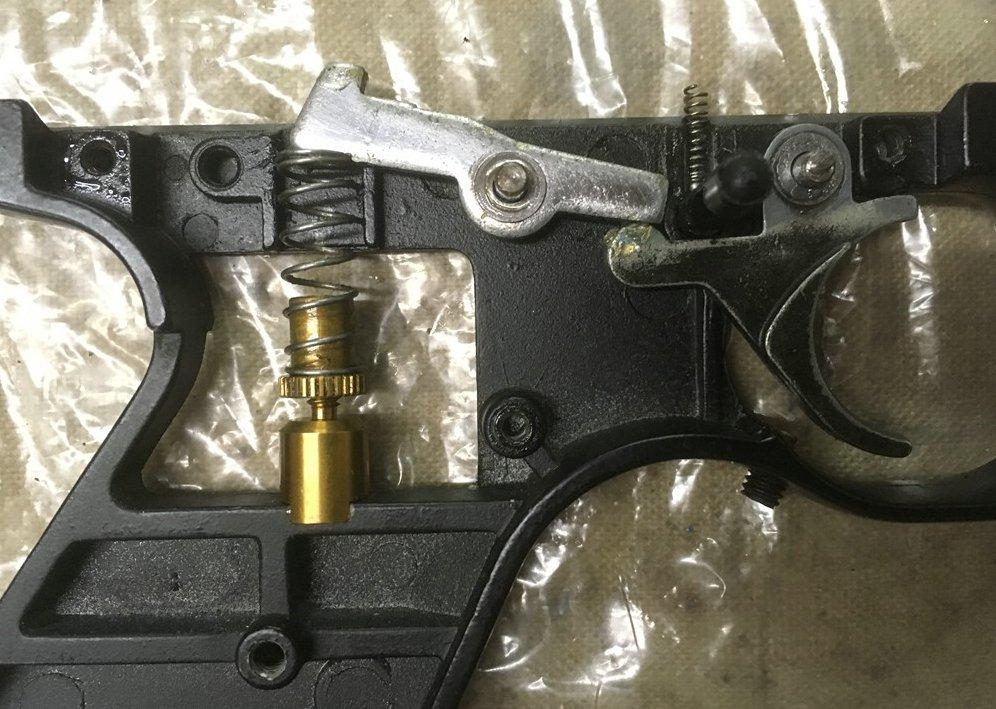 Amélioration pistolet 1701p silhouette Crosman ? _img_827
