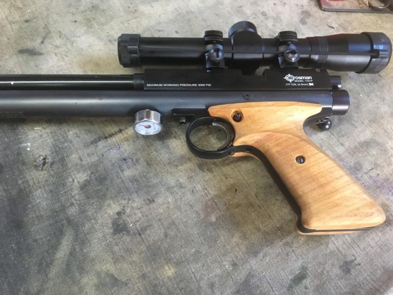 Amélioration pistolet 1701p silhouette Crosman ? - Page 2 Img_0522